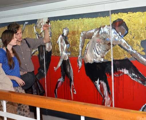 Выставка в Харькове: львовский художник считает, что иногда нужно помолчать