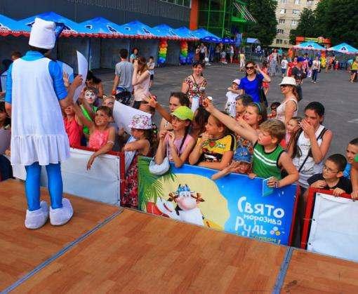 В Харькове прошел праздник мороженого