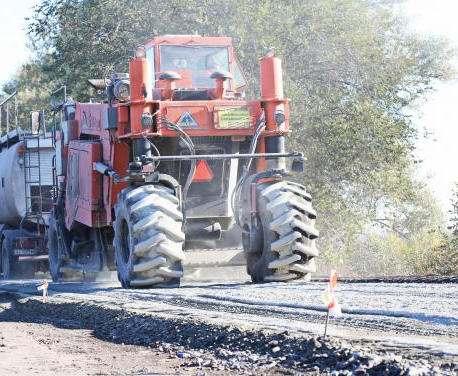 Возобновлен ремонт трассы Чугуев – Меловое