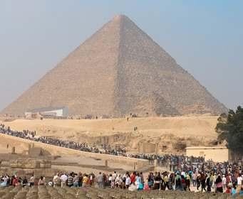 Пирамида Хеопса оказалась перекошенной