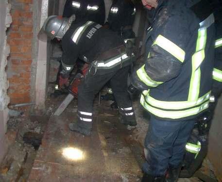 Пожар в Харькове: на Московском проспекте горела трехэтажка