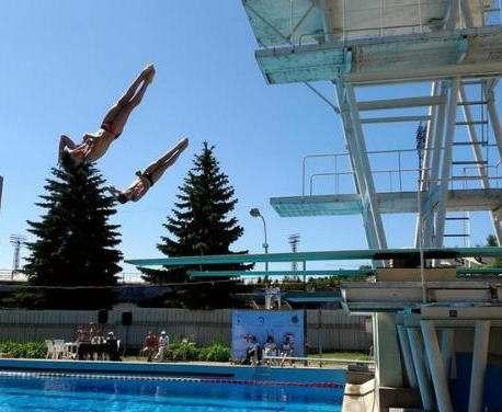 Харьковчане победили на чемпионате Украины по прыжкам в воду
