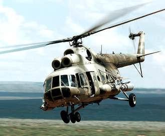 Под Харьковом упал вертолет