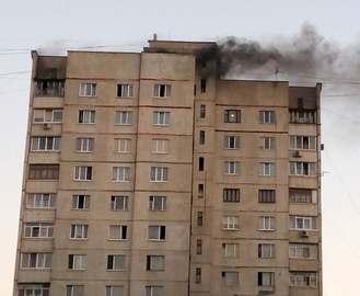 Пожар в Харькове: загорелась многоэтажка на Салтовке (фото, видео)