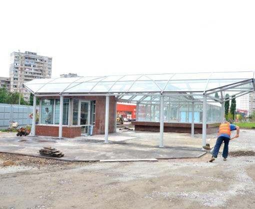 Станция харьковского метро «Победа» практически готова