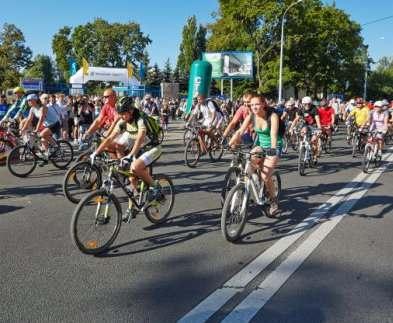 Из-за велогонок в Харькове перекрыли бульвар
