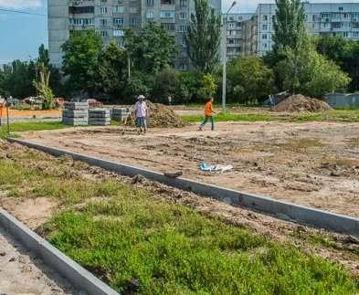 В Харькове реконструируют школьные стадионы