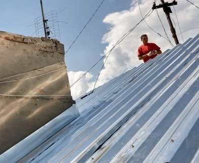 В Харькове меняют крыши