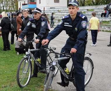 В Харькове выделили деньги на оснащение велосипедной полиции