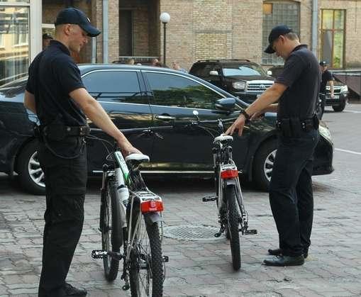 В Харькове появятся велополицейские