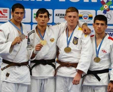 Юный харьковчанин завоевал «бронзу» чемпионата Европы по дзюдо