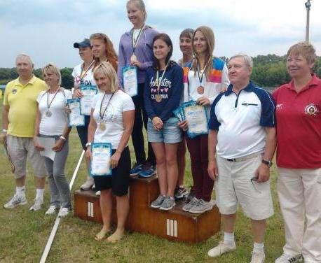 Харьковские спортсмены стали призерами чемпионата Украины по стрельбе из лука