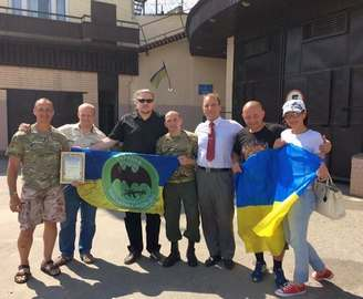 Разведчик 92-й бригады вышел на свободу
