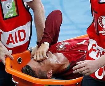 Назван срок восстановления Роналду после травмы
