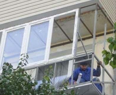 В Харькове будут штрафовать за незаконное переоборудование балконов