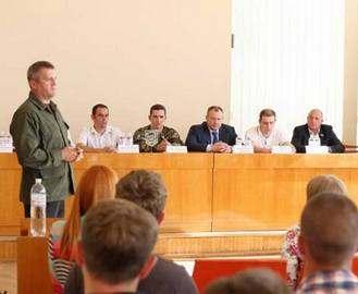 Участники АТО получили землю под Харьковом