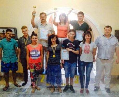 Харьковчане выиграли Кубок Украины по шашкам