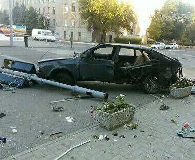 В Харькове полицейский автомобиль спровоцировал аварию с летальным исходом: все подробности, фото