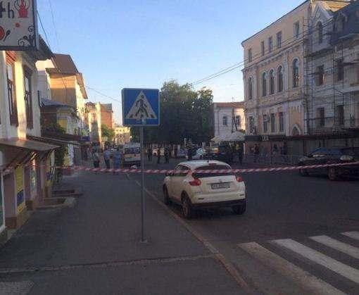 Убийство в центре Харькова: стрелявшего задержала полиция (фото)