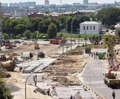 Когда закончат реконструкцию Павловской площади в Харькове