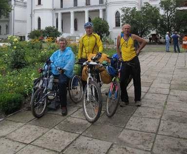 Инвалиды совершили уникальный велопоход по нормативам обычных спортсменов