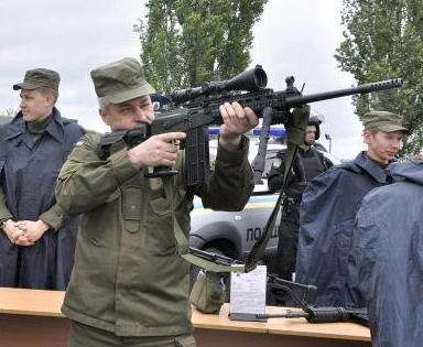 Харьковчанам покажут военную технику и научат пользоваться оружием
