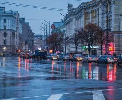 В Харькове практически справились с последствиями бури