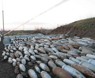 На Харьковщине нашли более тысячи единиц боеприпасов