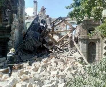 В центре Одессы рухнул «Масонский дом»: фото-факт