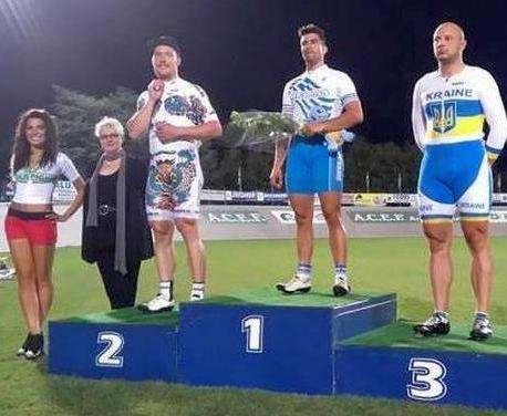 Харьковский велогонщик занял третье место на соревнованиях в Италии