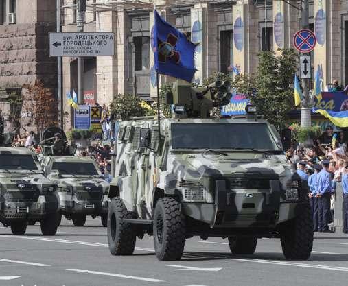 Президент Украины подписал указ о проведении военного парада 24 августа