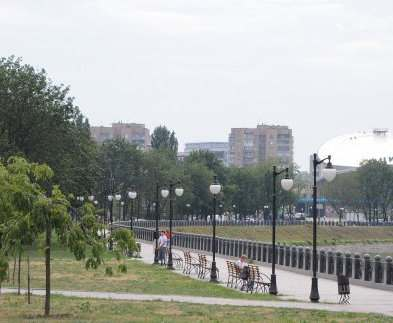 Что творится на Красношкольной набережной в Харькове