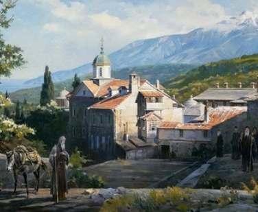 С Афона привезут икону «Благословение Святой Горы Афон», написанную для Украины