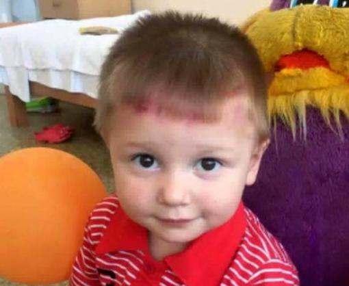 Двухлетний Богдан потерял маму