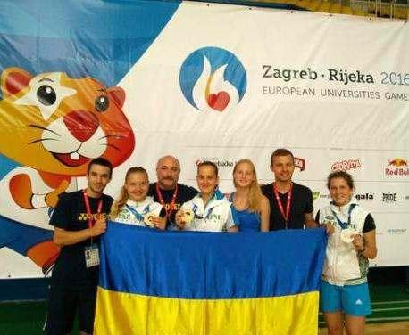 Харьковчане выиграли Европейские студенческие игры