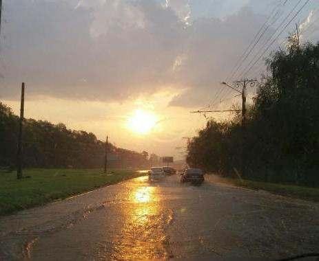 В Харькове прошел крупный локальный ливень: фото-факты