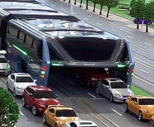 В Китае запустили автобус-портал