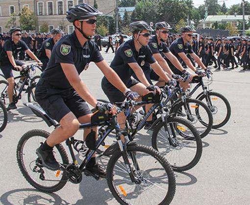 В Харькове начала работу велополиция