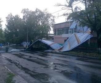 В Харькове прошел локальный ливень: фото-факты