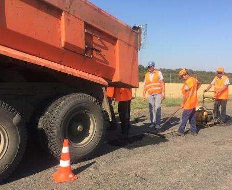 Ремонт дороги на Меловое близится к завершению
