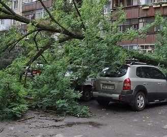 Стихия в Харькове: град видели только жители западных окраин