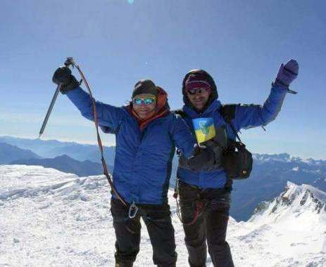 Харьковские альпинисты взошли на Монблан