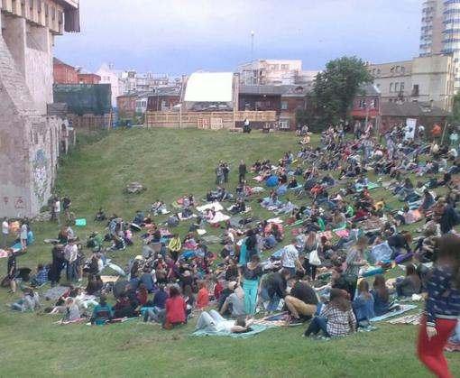 За харьковским оперным покажут кино под открытым небом