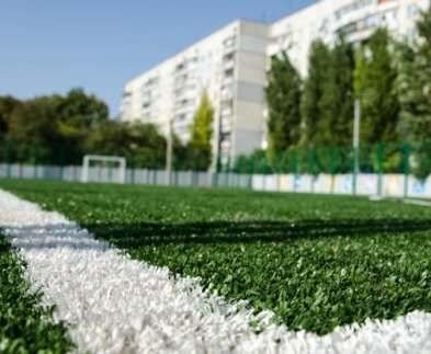 В харьковской школе скоро появится современный стадион