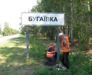 «Декоммунизированные» населенные пункты обзаводятся указателями с новыми названиями