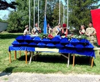 Под Харьковом перезахоронили солдат Второй мировой