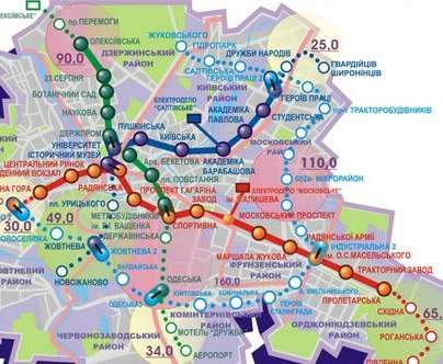 В Харькове вдоль метро снесут часть домов