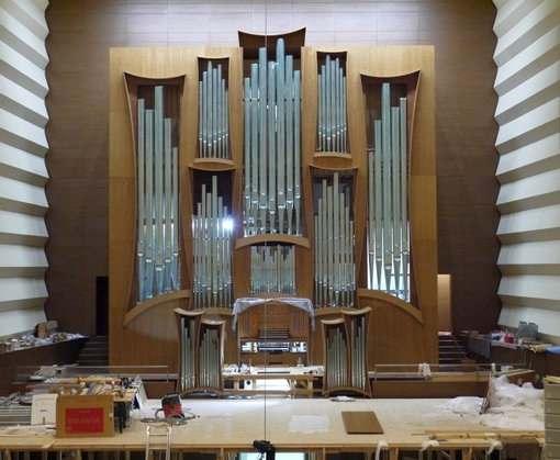 Харьковскую филармонию прихорашивают перед открытием органного зала