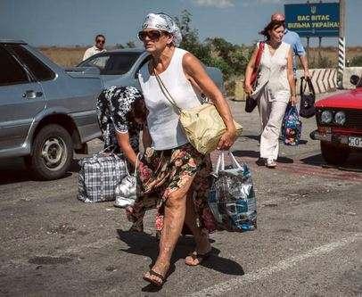На админгранице с Крымом открыты все пункты пропуска: информация Госпогранслужбы Украины