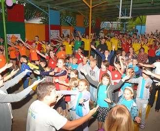 В детских лагерях «Ромашка» и «Факел» состоялось открытие четвертой смены